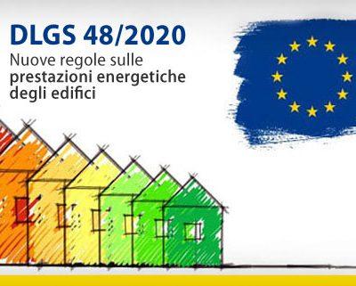 In Gazzetta il dlgs 48/2020 con le nuove regole sull'efficienza energetica degli edifici