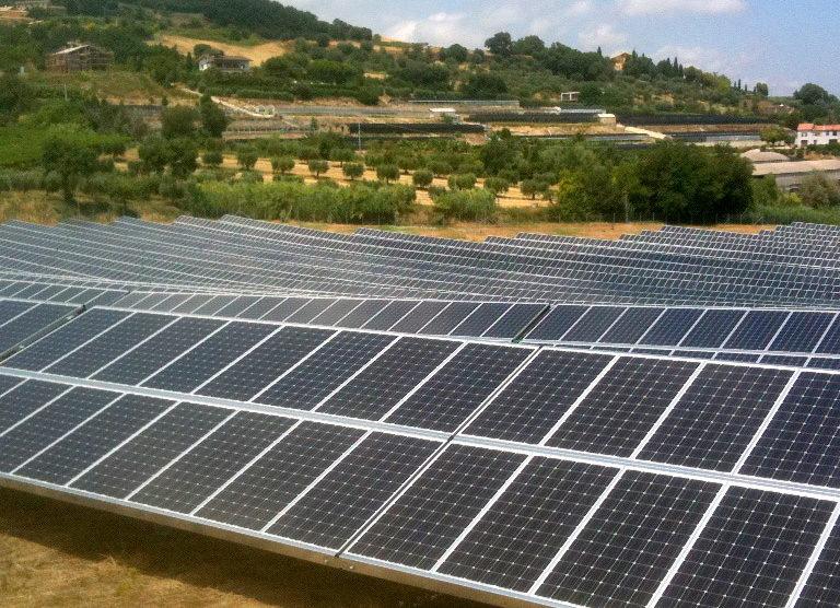 OG9 – Impianto fotovoltaico a struttura fissa
