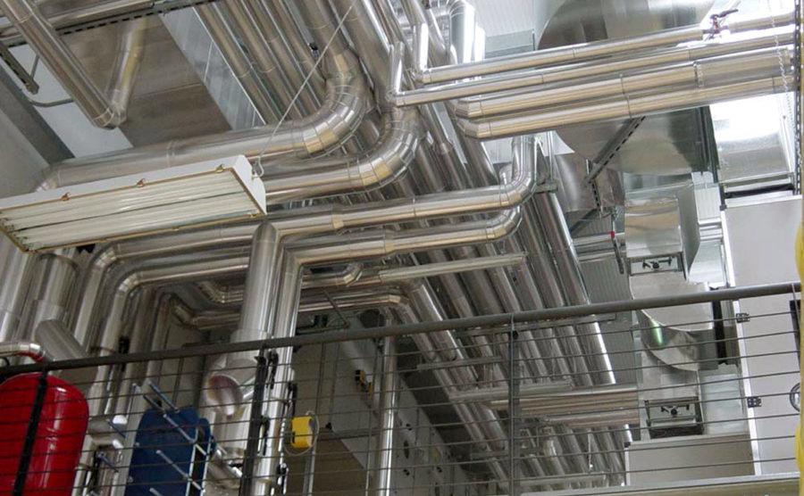 OS28 – Impianto climatizzazione, antincendio