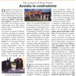 Avvio lavori Nuovo Polo scolastico Borgo Pintura